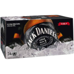 Photo of Jack Daniel & Cola Bottles