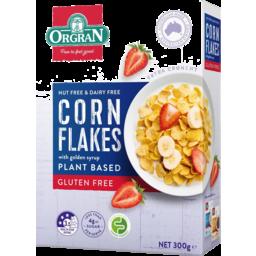 Photo of Orgran Gluten Free Plant Based Corn Flakes 300g