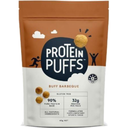 Photo of Protein Puffs Buff Barbeque 43g