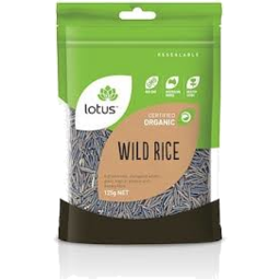 Photo of Lotus - Rice - Wild Rice - 125g