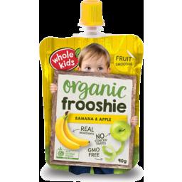 Photo of Whole Kids Banana Apple Frooshie 90g