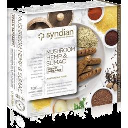 Photo of Syndian - Vegan Sausages Mush Hemp -300g