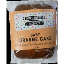 Photo of Emma & Myrtles Baby Orange Cake 300g