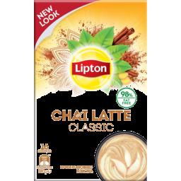 Photo of Lipton Chai Latte Classic Spice Flavoured Milk Tea 16 Pack 370g