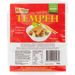 Photo of Nutrisoy Tempeh - Mildly Spiced 300gm