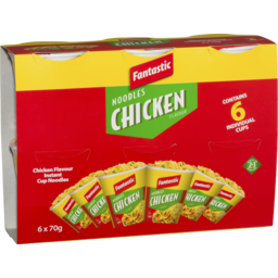 Photo of Fantastic Cup Noodles Chicken 6x70g