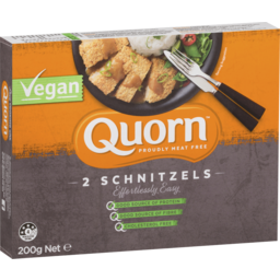 Photo of Quorn Vegan Schnitzels 200g