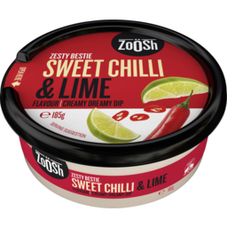 Photo of Zoosh Sweet Chilli & Lime Flavour Creamy Dreamy Dip 185g