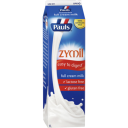 Photo of Pauls Zymil Full Cream Milk 1litre