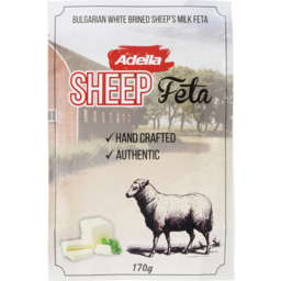 Photo of Adella Sheep Feta 170g