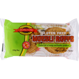 Photo of Jon Jon Gluten Free Biscuits Muesli Ruffs 6 Pack