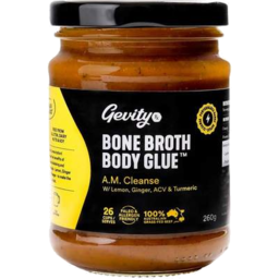 Photo of Gevity RX Bone Broth Concentrate - A.M. Cleanse 260g