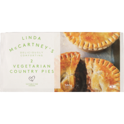 Photo of Linda Mccartney Foods Country Pies Vegan 380g