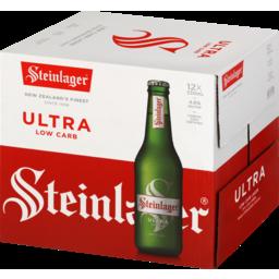 Photo of Steinlager Ultra Beer Lager Bottles 12 x 330ml