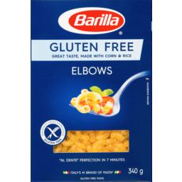 Photo of Barilla Gluten Free Elbows 340g
