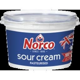Photo of Norco Sour Cream Pasteurised 250gm