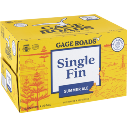 Photo of Gage Roads Single Fin Summer Ale Stubbies