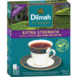 Photo of Dilmah Premium Extra Strong Teabags 100
