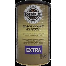 Photo of EGEBIRLIK OLIVES BLK EXTRA 6x800G