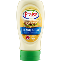 Photo of Praise Traditional Mayonnaise Squeezy 365gm
