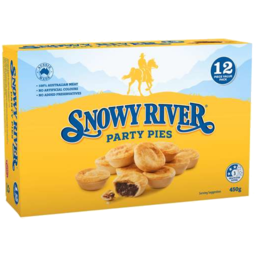 Photo of Snowy River Party Pies 12pk 450gm