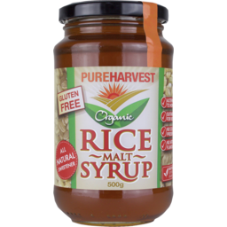 Photo of Pure Harvest Rice Malt Syrup 500g