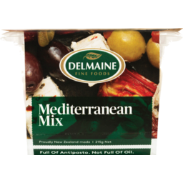 Photo of Delmaine Olives Mediterranean Mix 215g