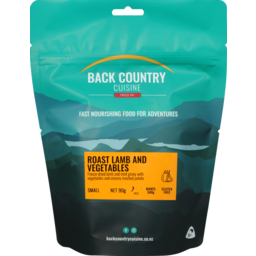 Photo of Back Country Cuisine Gluten Free Roast Lamb & Vegetables 90g