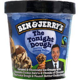 Photo of Ben & Jerry'S Ice Cream The Tonight Dough® 458.000 Ml