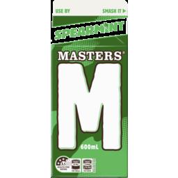 Photo of Masters Spearmint Milk 600ml