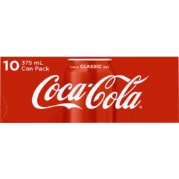 Photo of Coca Cola Drink 375ml 10pk