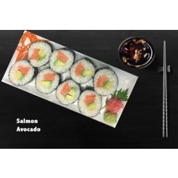 Photo of Sushi Salmon & Avocado GLUTEN FREE 8 Pack