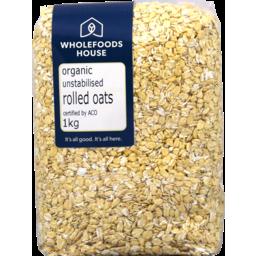 Photo of Wholefoods House Oats Rolled Unstabilised 1kg