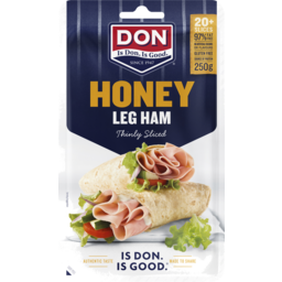 Photo of Don® Honey Leg Ham Thinly Sliced 250g