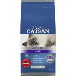 Photo of Catsan Crystals Litter Crystals 4.5l 2kg