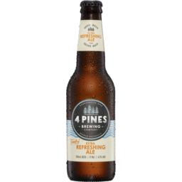Photo of 4 Pines Brewing Company Extra Refreshing Ale 330ml Spritz