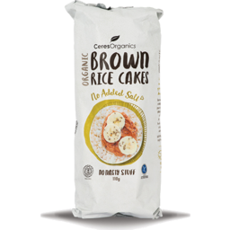 Photo of Brown Rice Cakes No Added Salt 110g