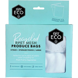 Photo of Ever Eco Reusable Produce Bags - 4 Pack + Storagepouch