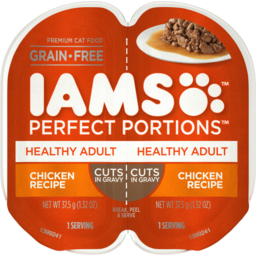 Photo of Iams Perfect Portions Healthy Adult Chicken 75g