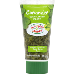 Photo of Gourmet Garden Coriander Cold Blended Paste 80g
