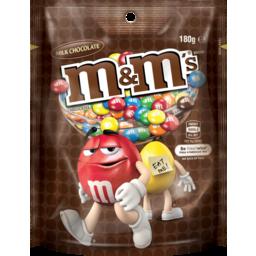 Photo of M&M's M&Ms Milk Chocolate 180g