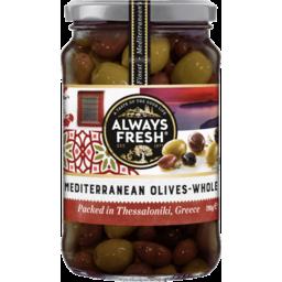 Photo of Always Fresh Mediterranean Olives 295g