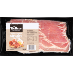 Photo of Hellers Streaky Bacon 400g