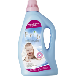 Photo of Purity Fabric Softener Sensitive 1.25l