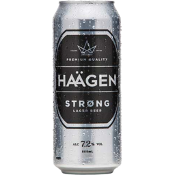 Photo of Haagen Strong Cans 500ml