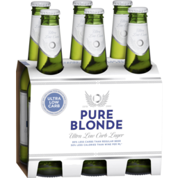 Photo of Pure Blonde Ultra Low Carb Lager 6 X 355ml Bottles 6.0x355ml
