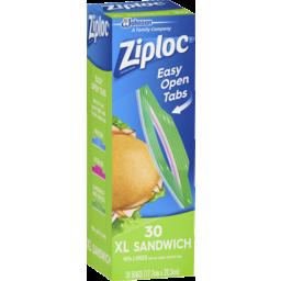 Photo of Ziploc® Sandwich Xl Bag 30 Pack