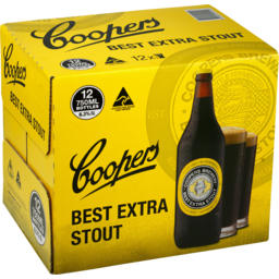 Photo of Coopers Best Extra Stout Bottles