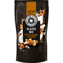 Photo of Red Rock Deli Salted Caramel & Coconut Glazed Mix 100g