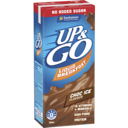 Photo of Up&Go No Added Sugar Choc Ice 350ml